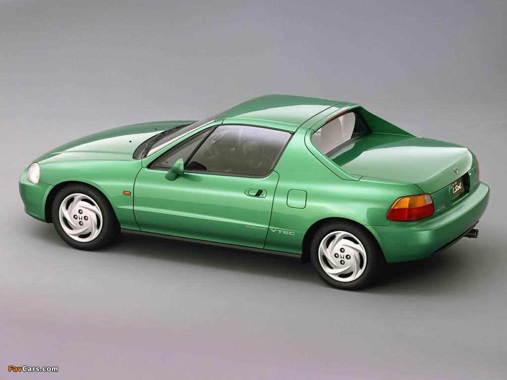 Honda Cr X >> Wallpapers of Honda CR-X del Sol SiR (EG2) 1992–98 (1024x768)