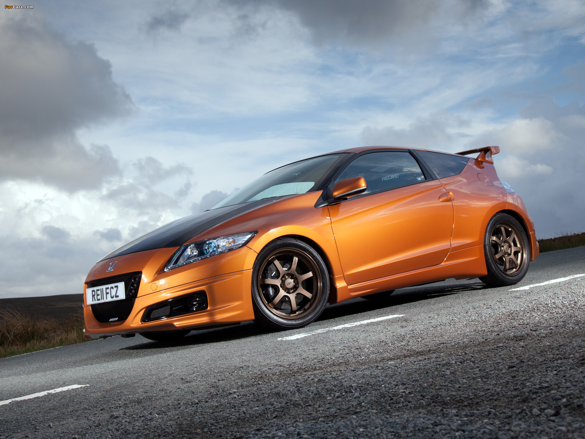 Pictures Of Mugen Honda Cr Z Concept Zf1 2011 2048x1536