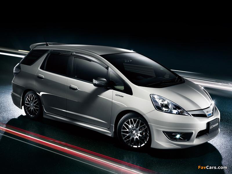 Mugen Honda Fit Shuttle Gg 2011 Wallpapers 800x600