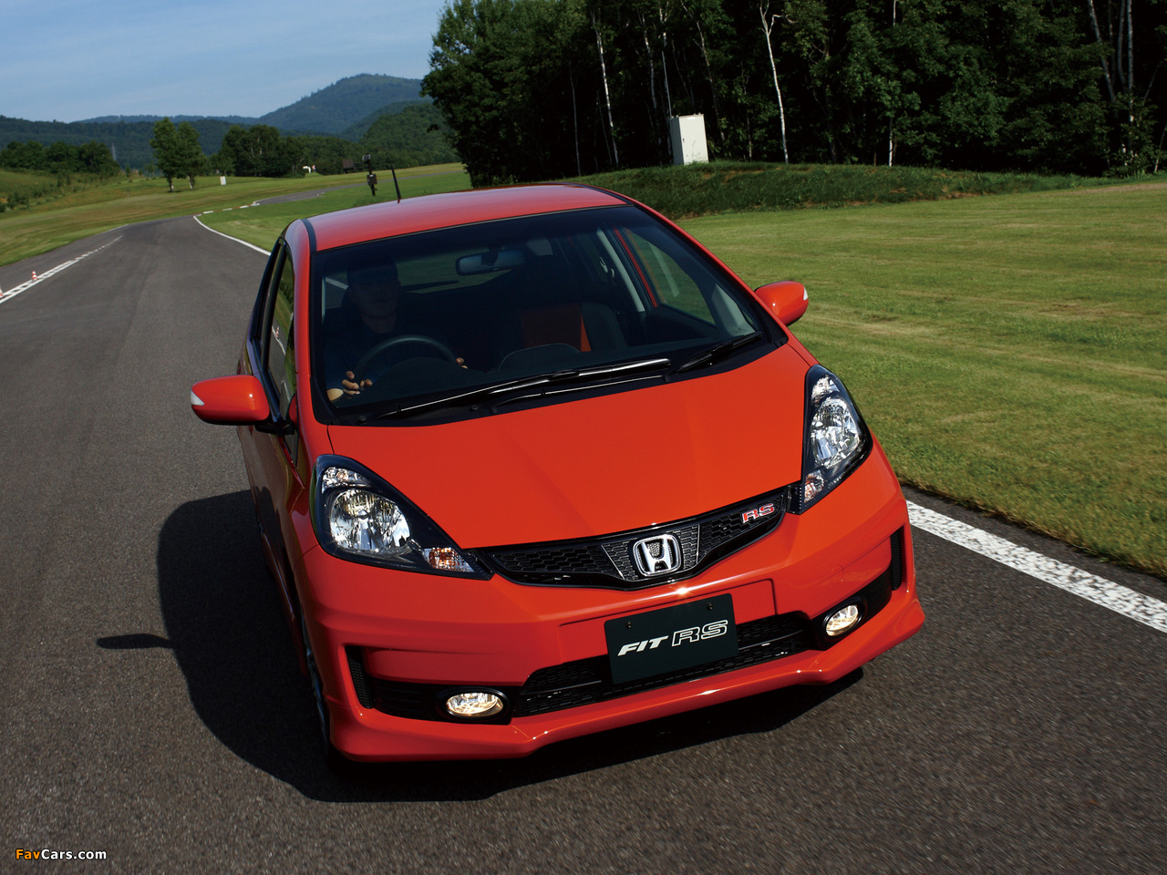 2009 honda fit review ratings specs prices and photos. Black Bedroom Furniture Sets. Home Design Ideas