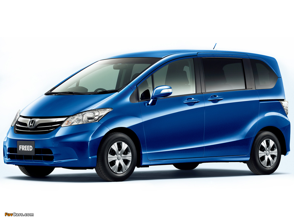 Wallpapers Of Honda Freed Gb3 2011 1024x768