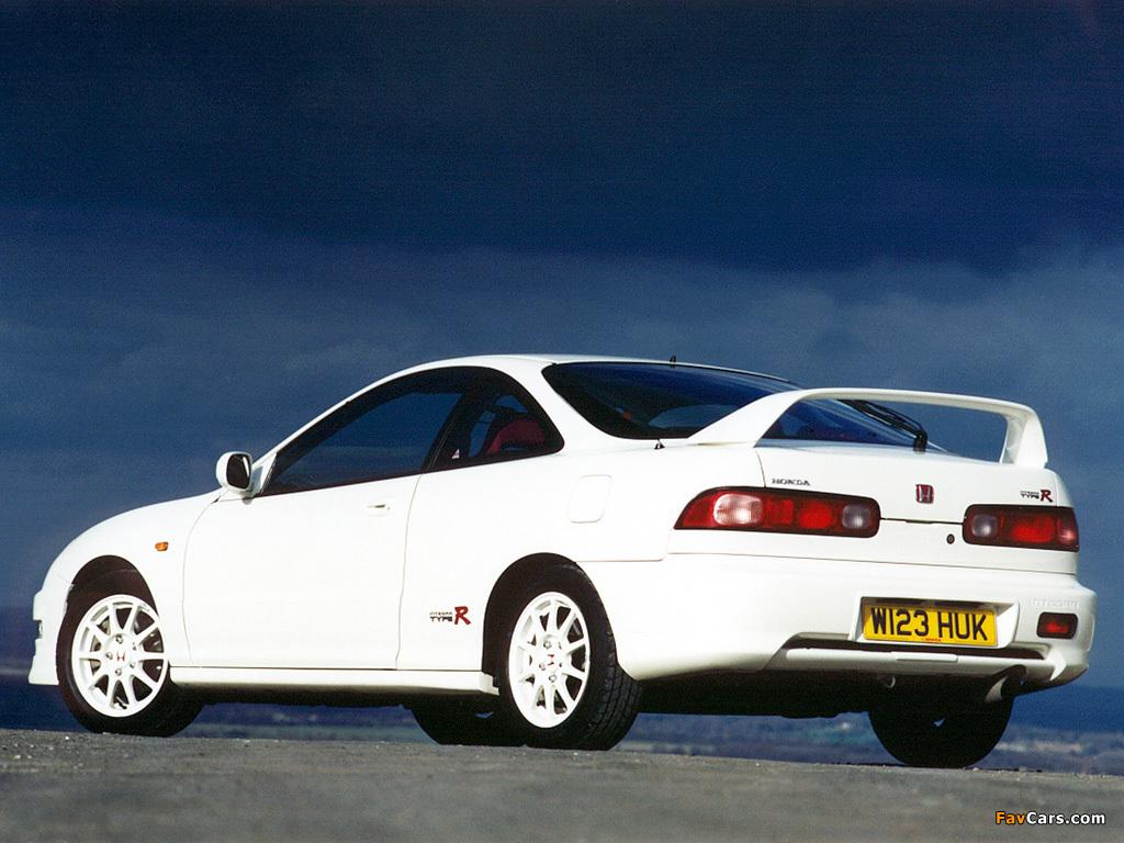 Honda Integra Type-R UK-spec (DC2) 1997–2001 wallpapers (1024x768)