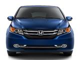Honda Odyssey US-spec 2013 images