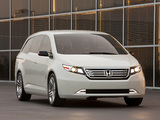 Photos of Honda Odyssey Concept 2010