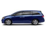 Wallpapers of Honda Odyssey US-spec 2013