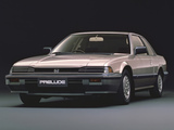 Photos of Honda Prelude XX 1982–87