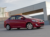 Hyundai Accent US-spec (RB) 2011 photos
