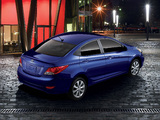 Hyundai Accent US-spec (RB) 2011 pictures