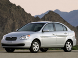 Images of Hyundai Accent Sedan US-spec 2006–11