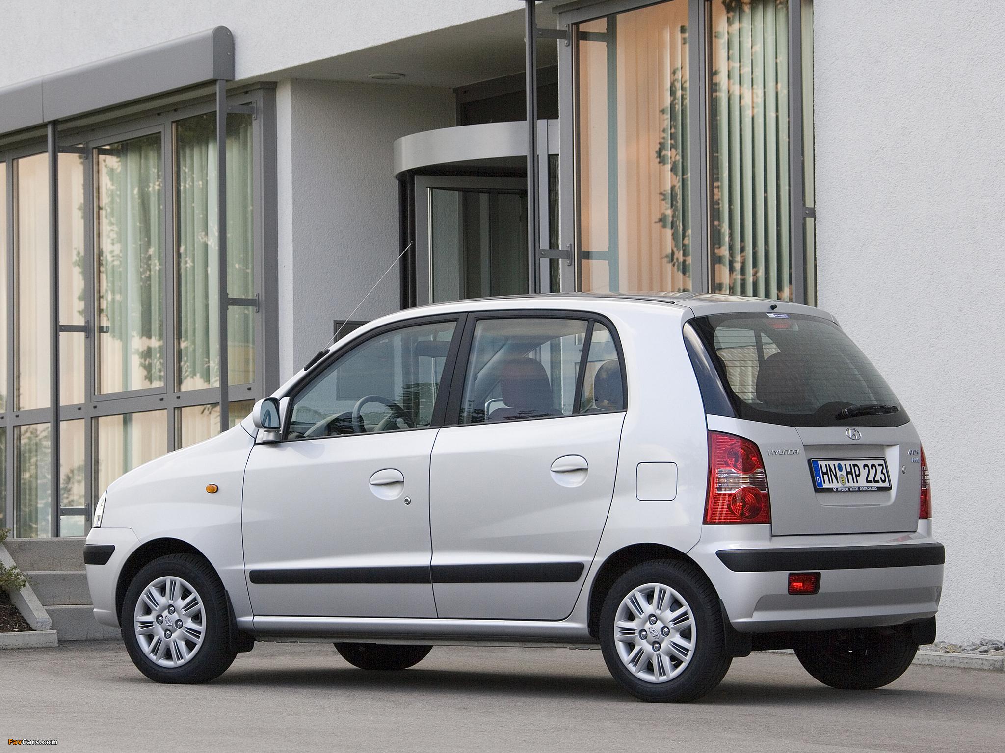 Hyundai Atos Prime 2004–08 pictures (2048 x 1536)