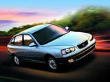 Images of Hyundai Elantra Hatchback (XD) 2000–03