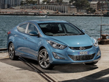 Photos of Hyundai Elantra AU-spec (MD) 2014