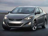 Hyundai Elantra Limited US-spec (MD) 2014 wallpapers