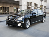 Pictures of Hyundai Equus US-spec 2010