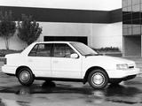 Hyundai Excel Sedan (X2) 1989–92 photos