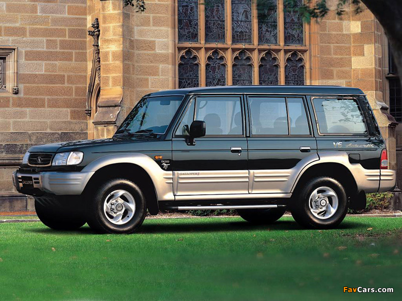 Hyundai Galloper 5 Door Ii 1998 2003 Wallpapers 800x600