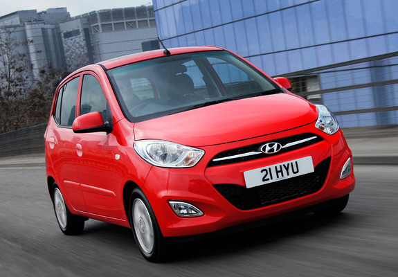 hyundai i10 uk spec 2010 wallpapers. Black Bedroom Furniture Sets. Home Design Ideas