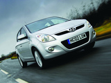 Images of Hyundai i20 5-door UK-spec 2008