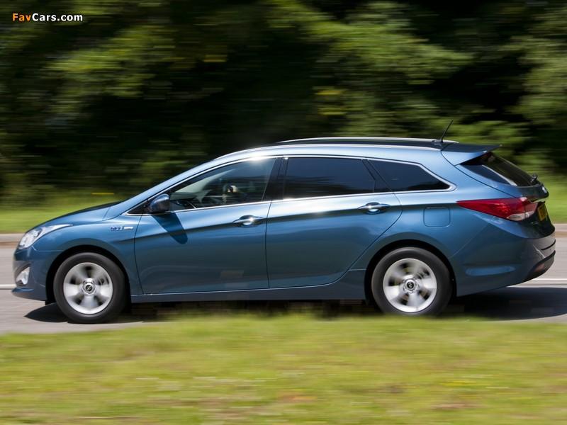 Hyundai Blue Link >> Images of Hyundai i40 Wagon Blue Drive UK-spec 2011 (800x600)