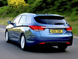 Photos of Hyundai i40 Wagon UK-spec 2011