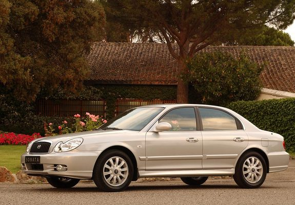 Hyundai Sonata (EF) 2001–04 wallpapers