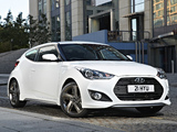 Hyundai Veloster Turbo SE UK-spec 2012 wallpapers