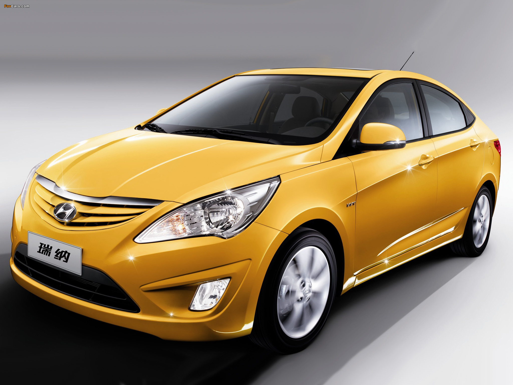 Hyundai Verna (RB) 2010 Wallpapers (2048x1536