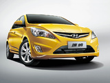 Hyundai Verna Hatchback (RB) 2011 wallpapers