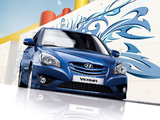 Hyundai Verna 2009–10 wallpapers
