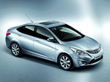 Hyundai Verna (RB) 2010 wallpapers