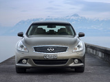 Infiniti G37 EU-spec (V36) 2010–13 wallpapers