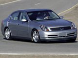 Photos of Infiniti G35 2002–05
