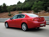 Photos of Infiniti G37 EU-spec (V36) 2008–10
