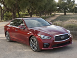 Images of Infiniti Q50S Hybrid (V37) 2013