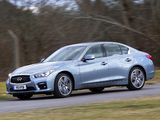 Infiniti Q50S Hybrid UK-spec (V37) 2013 pictures