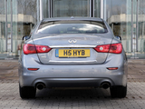 Photos of Infiniti Q50S Hybrid UK-spec (V37) 2013