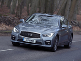 Pictures of Infiniti Q50S Hybrid UK-spec (V37) 2013