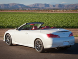 Images of Infiniti Q60 3.7 IPL Convertible (CV36) 2013