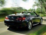 Photos of Infiniti Q60 3.7 Convertible EU-spec (CV36) 2013
