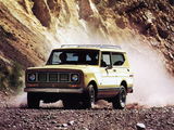 International Scout II 1976 pictures