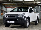 Isuzu D-Max Single Cab 2012 wallpapers