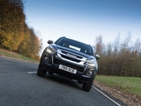 Isuzu D-Max Double Cab UK-spec 2017 photos