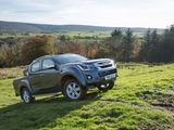 Isuzu D-Max Double Cab UK-spec 2017 wallpapers