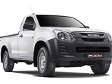 Isuzu D-Max Single Cab 4×4 TH-spec 2017 wallpapers