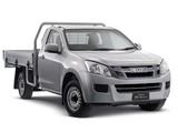 Photos of Isuzu D-Max Single Cab 2012