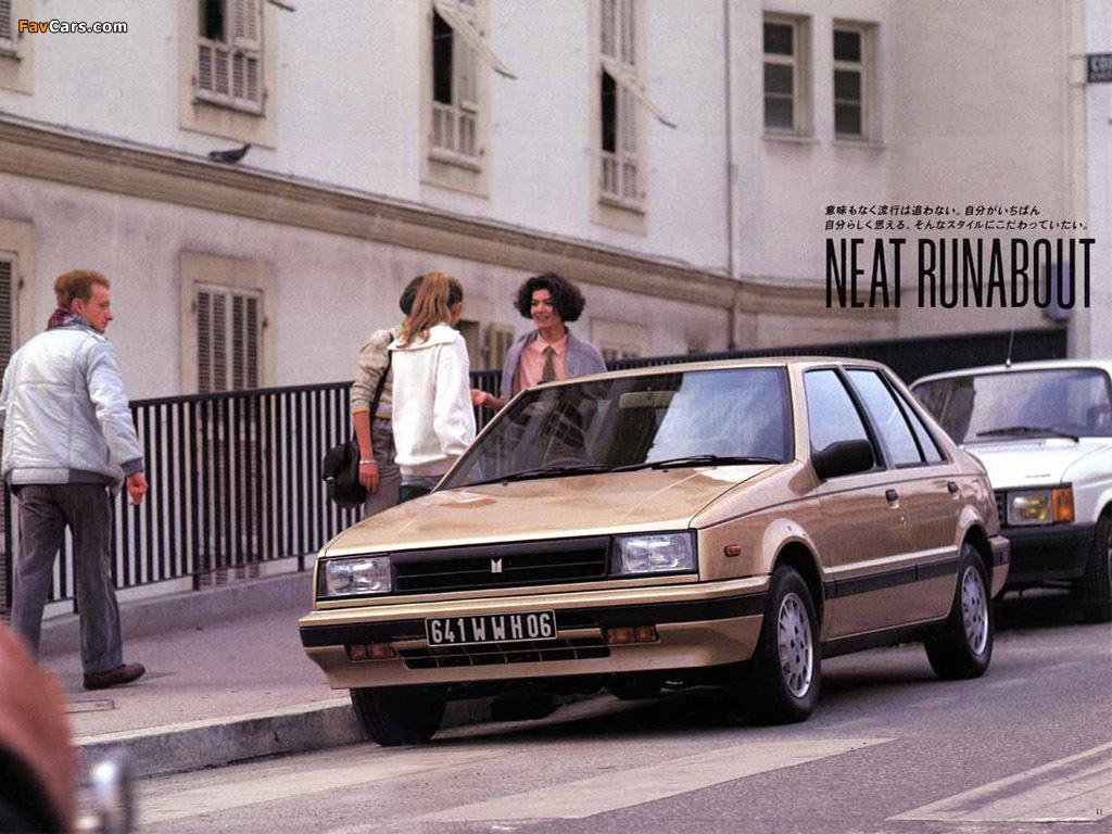Isuzu Ff Gemini Sedan Jt150 1985 87 Wallpapers 1024x768