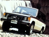 Isuzu Trooper II 2-door 1983–86 images