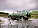 Isuzu Trooper UK-spec 1998–2002 wallpapers