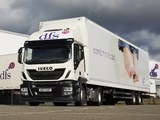 Photos of Iveco Stralis Hi-Road 420 4x2 UK-spec 2013