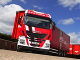 Iveco Stralis Hi-Way 460 6x2 UK-spec 2013 wallpapers